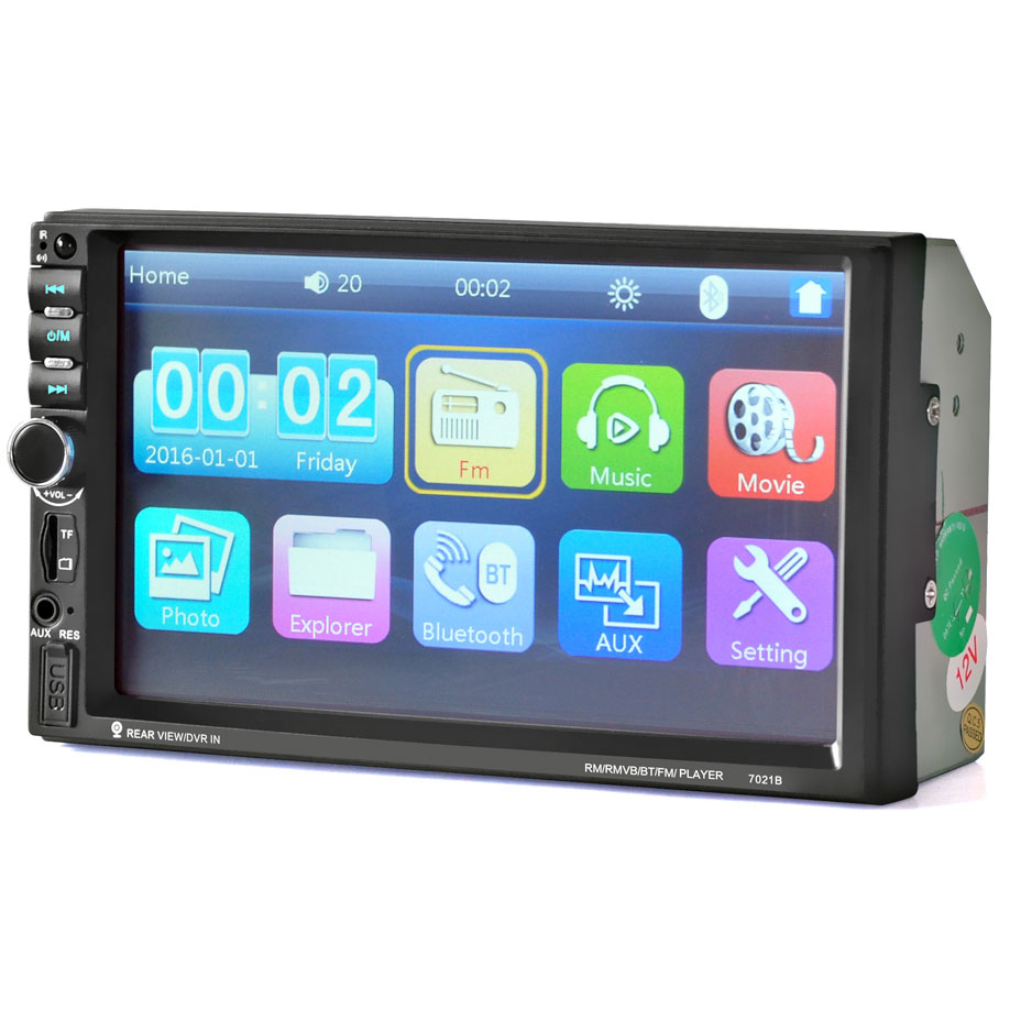 Mp5 Media Player Monitor Mobil Lcd Touchscreen 7 Inch Black Tas Pinggang Olahraga Waterproof 55inch 1