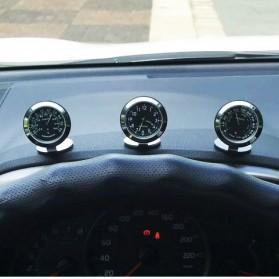 Dekorasi Mobil Car Thermometer - Black - 4