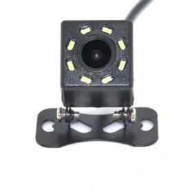 Kamera Belakang Mobil Car Rearview Camera 8 LED Nightvision - S8 - Black - 2