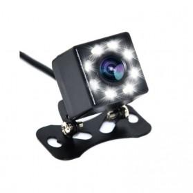 Kamera Belakang Mobil Car Rearview Camera 8 LED Nightvision - S8 - Black - 5