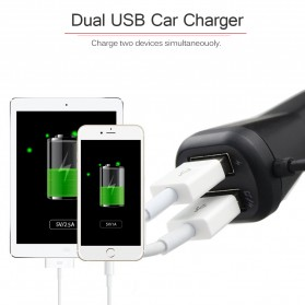 CarQ7s Handsfree Bluetooth Audio Receiver FM Transmitter with USB Car Charger - Q7s - Black - 6