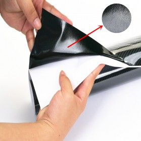 Karlor Stiker Vinyl Carbon Fiber Mobil 50 x 200 CM - TAA749 - Black - 3