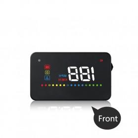Digital Car LED  Head Up Display HUD OBD2 Interface - A200 - Black - 6