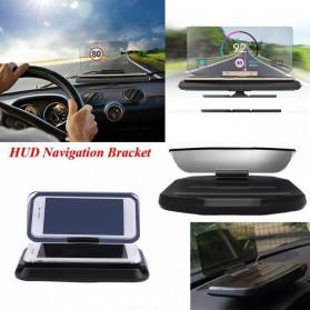 GEYIREN Smartphone Holder GPS Navigator Car HUD - ZYHY - Black