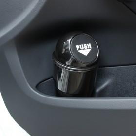 Tempat Sampah Mini Multifungsi untuk Mobil Car Trash Bin - COLJT0008 - Black