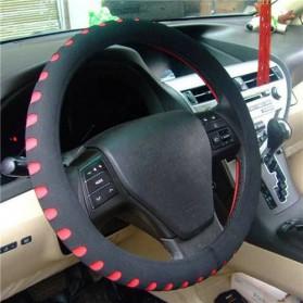 Cover Stir Mobil EVA Sporty Diameter 38CM - Red - 1