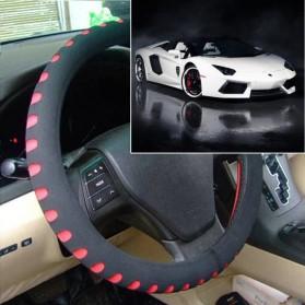 Cover Stir Mobil EVA Sporty Diameter 38CM - Red - 3