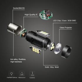 Lampu Mobil Headlight LED P21W 9005 3030 2 PCS - White - 3