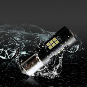 Lampu Mobil Headlight LED P21W 9006 3030 2 PCS - Yellow - 9