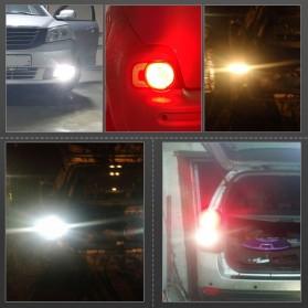 Lampu Mobil Headlight LED P21W 9006 3030 2 PCS - Yellow - 10