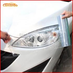 Stiker Kap Lampu Mobil Motor Car Headlight Film Vinyl - Transparent