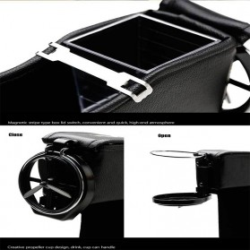 KWHEEL Kotak Organizer Penyimpanan Barang Mobil Seat Gap Filler Master - CL-005 - Black - 3