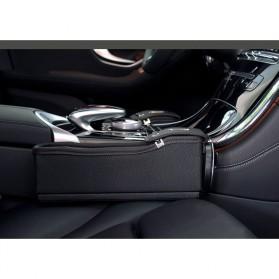 KWHEEL Kotak Organizer Penyimpanan Barang Mobil Seat Gap Filler Master - CL-005 - Black - 6