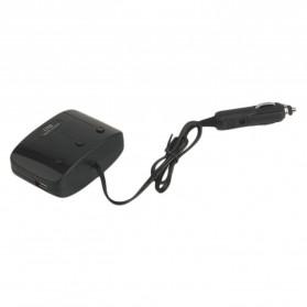 USB Car Charger 2 3.1A Port dengan 3 Cigarette Plug 120W - Black - 3