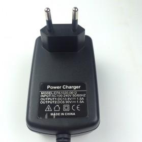 GKS Charger Aki Mobil Motor 4-Stage Deep Cycle Lead Acid Battery Charger 12V/6V 1.5A - 84V15Ah - Black - 5