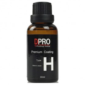 DPRO Premium Coating Crystal Liquid Hydrophobic Pelindung Bodi Mobil 9H Type H 30ml - Black