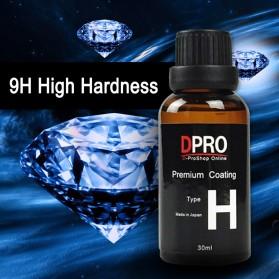 DPRO Premium Coating Crystal Liquid Hydrophobic Pelindung Bodi Mobil 9H Type H 30ml - Black - 5