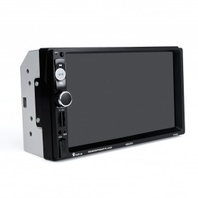 MP5 Media Player Monitor Mobil LCD Touchscreen 7 Inch with Rear View Camera - Black - 9