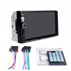 MP5 Media Player Monitor Mobil LCD Touchscreen 7 Inch with Rear View Camera - Black - 10