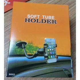SUPMANGO Holder Smartphone Mobil Lazypod Flexible Neck 3.5-6 Inch - Z1 - Black - 7