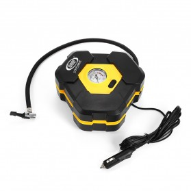 Carzkool Pompa Ban Portable Air Compressor 12V - CZK-3603 - Black/Yellow