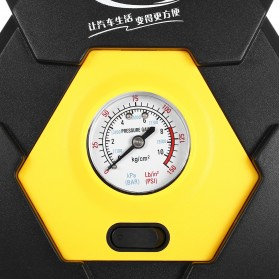 Carzkool Pompa Ban Portable Air Compressor 12V - CZK-3603 - Black/Yellow - 5