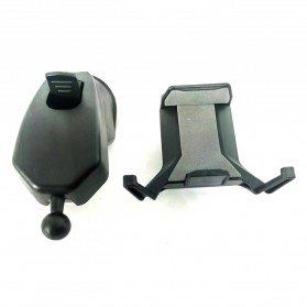 Universal Smartphone Car Holder Suction Cup - Black - 2