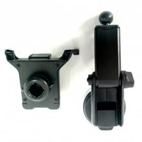 Universal Smartphone Car Holder Suction Cup Telescopic Neck - Black - 2