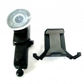 Universal Smartphone Car Holder Suction Cup Telescopic Neck - Black - 3
