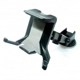 Universal Smartphone Car Holder Suction Cup Telescopic Neck - Black - 5