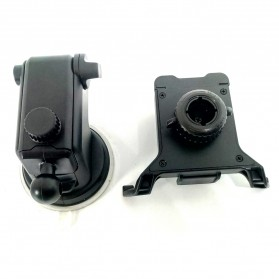 Universal Smartphone Car Holder Suction Cup Telescopic Neck - Black - 6