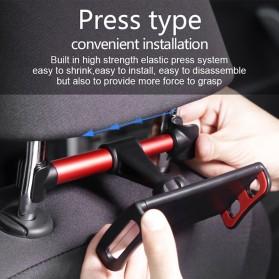 Redland Backseat Smartphone Tablet Car Holder Kepala Kursi Mobil - R11 - Black - 2
