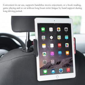 Redland Backseat Smartphone Tablet Car Holder Kepala Kursi Mobil - R11 - Black - 4