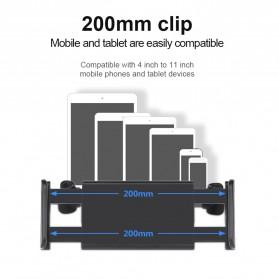 Redland Backseat Smartphone Tablet Car Holder Kepala Kursi Mobil - R11 - Black - 9