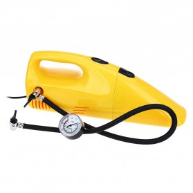 ZHEPA Vacuum Cleaner Mobil Multifungsi 90W dengan Air Compressor 300PSI - HF2001 - Yellow