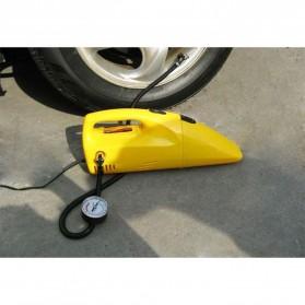 ZHEPA Vacuum Cleaner Mobil Multifungsi 90W dengan Air Compressor 300PSI - HF2001 - Yellow - 4