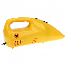 ZHEPA Vacuum Cleaner Mobil Multifungsi 90W dengan Air Compressor 300PSI - HF2001 - Yellow - 7