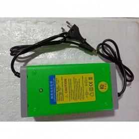 Li Dian Chi Charger Baterai Aki Mobil Motor 14.6V 10A - Green - 3