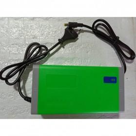 Li Dian Chi Charger Baterai Aki Mobil Motor 14.6V 10A - Green - 5