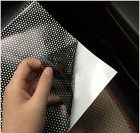 Stiker Sun Shade Kaca Jendela Mobil UV Protect - TTWO - Black - 3