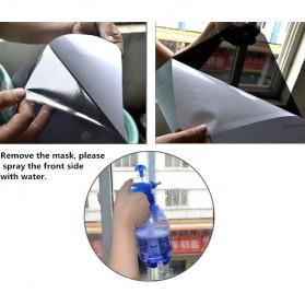 Stiker Sun Shade Kaca Jendela Mobil UV Protect - TTWO - Black - 5