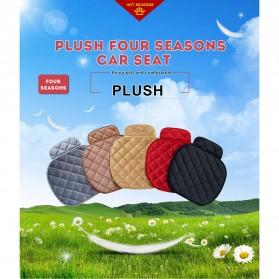Cover Jok Kursi Mobil Cloth Cushion 3 Set - Black - 2