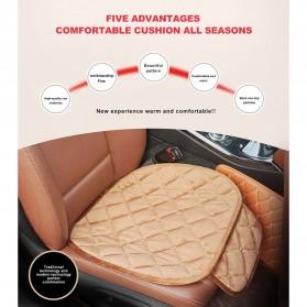 Cover Jok Kursi Mobil Cloth Cushion 3 Set - Black - 3