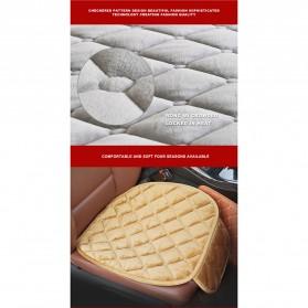 Cover Jok Kursi Mobil Cloth Cushion 3 Set - Black - 5