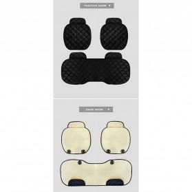 Cover Jok Kursi Mobil Cloth Cushion 3 Set - Black - 8