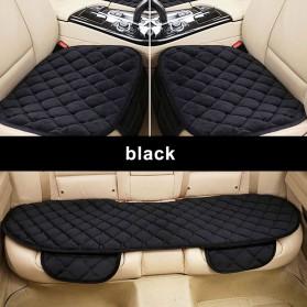 Cover Jok Kursi Mobil Cloth Cushion 3 Set - Black - 9
