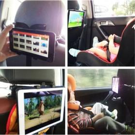 Tendway Backseat Smartphone Car Holder Mobil for Tablet 8-11 Inch - SBT-1104 - Black - 6