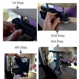 Tendway Backseat Smartphone Car Holder Mobil for Tablet 8-11 Inch - SBT-1104 - Black - 7