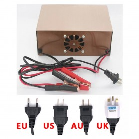 MONFARA Charger Aki Mobil Lead Acid Smart Battery Charger 12V24V 6-400AH - MF-3S - Golden - 10