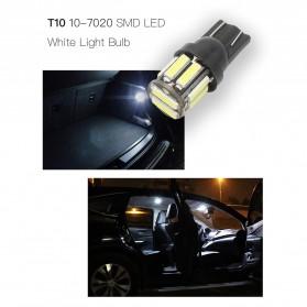 JIAMEN Lampu Mobil Headlight LED T10 W5W SMD 7020 2 PCS - PN-RGB - Blue - 5